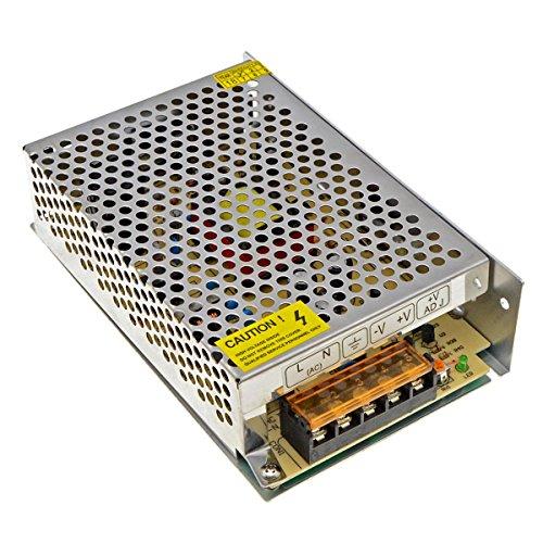 YXQ AC 110V/220V to DC 24V 3A 72W Switching Power Supply Converter Transformer for LED Strip Lights, CCTV, Radio, Computer Project