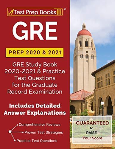 GRE Prep 2020 & 2021: GRE Study Book 2020-2021