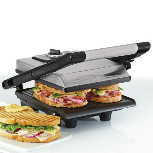 BELLA 13944 Panini Maker, Brushed Stainless Steel