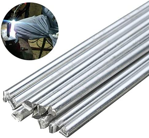 10pcs 3x1.3x400mm Low Temperature Flat Soldering Rods For Welding Brazing ReRCUS