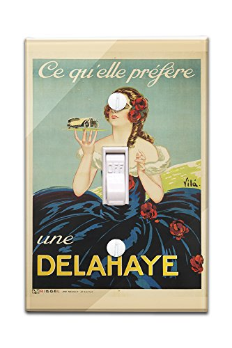 delahaye-vintage-poster-artist-vila-france-c-1935-light-switchplate-cover