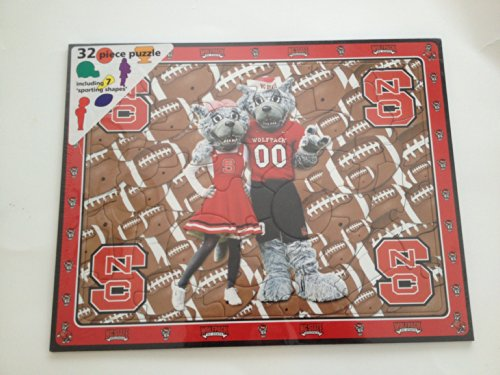 NC State NCSU Wolfpack 32 Piece Puzzle (Nc State Wolfpack Puzzle)