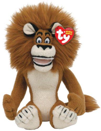 Alex Plush - TY Beanie Baby Madagascar - Alex-Lion
