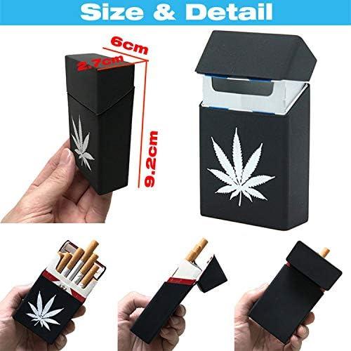Funda de Silicona Suave para 20 Cigarrillos de Hombre, Caja de Tabaco: Amazon.es: Equipaje