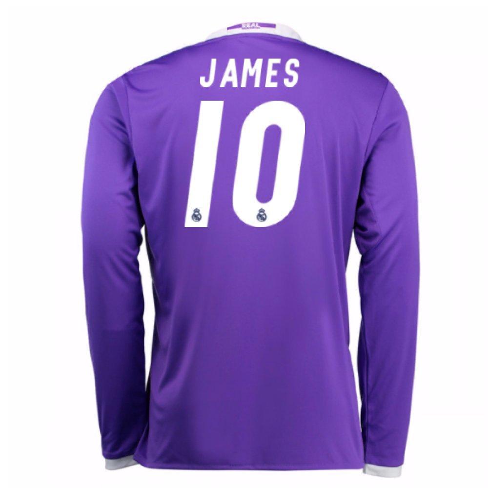 2016-17 Real Real Real Madrid Away Football Soccer T-Shirt Trikot (James Rodríguez 10) - Kids 7f8b7a