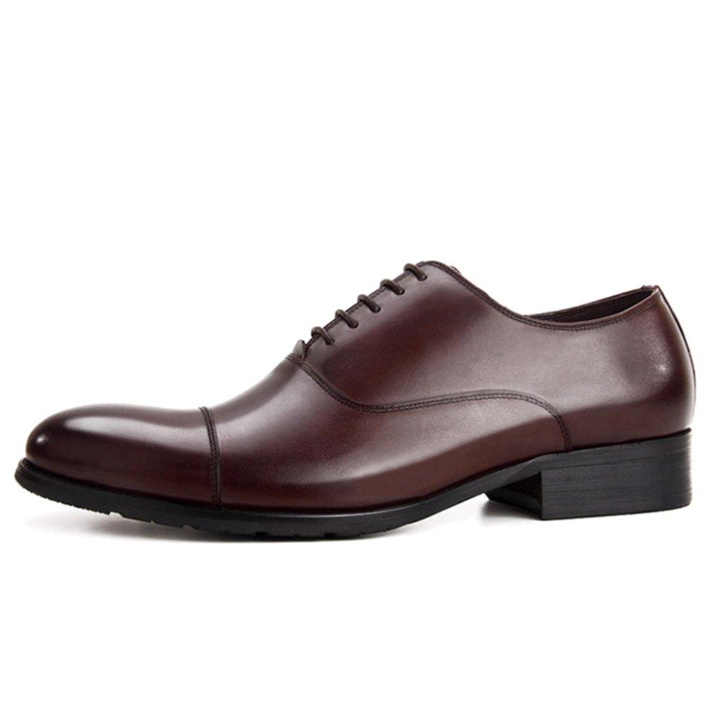 MERRYHE Klassische Oxford Herren Echtes Leder Schnürschuhe Schuhe Geschäft Formal Dress Schuh Für Hochzeit Party Arbeit Freunde Geschenke