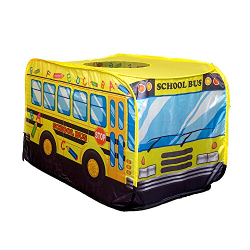 ('Playscene' School Bus Pop Up Play Tent For)