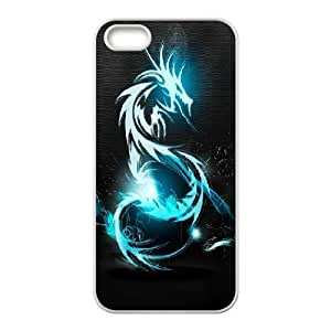 For SamSung Note 2 Phone Case Cover Dark Blue Dragon Hard Shell Back White For SamSung Note 2 Phone Case Cover 341075