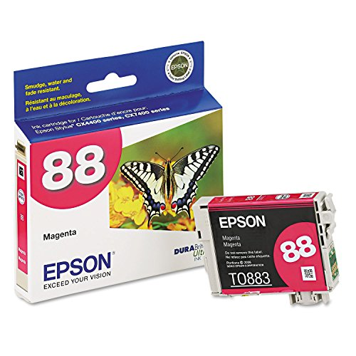 Epson 88 T088320 Magenta OEM Genuine Inkjet/Ink Cartridge - Retail