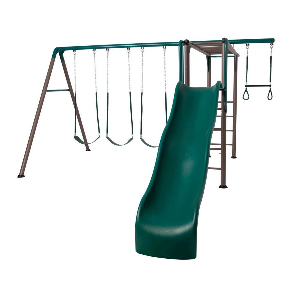 Lifetime® Monkey Bar Adventure Swing Set - Earthtones