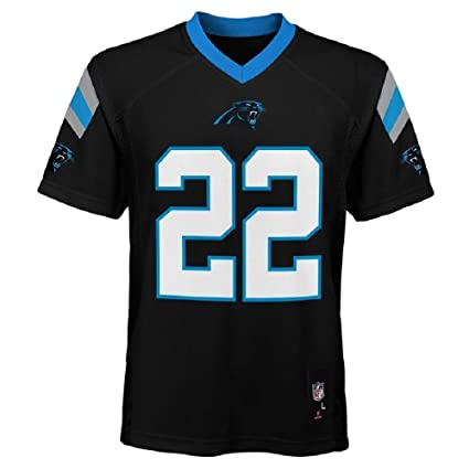 Outerstuff Christian McCaffrey Carolina Panthers NFL Youth Black Home  Mid-Tier Jersey (Youth Small 03c205fb3