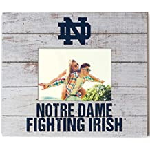 "KH Sports Fan 13.63""x11.63"" Notre Dame Fighting Irish Team Spirit Slat Frame with Logo"