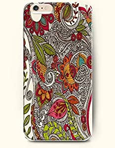 SevenArc Phone Skin New Apple iPhone 6 case 4.7' -- Deluxe Floral Pattern