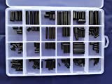 270pcs M1.5-M8 304 Stainless Steel Split Spring Dowel Pin Tension Roll Pins Set