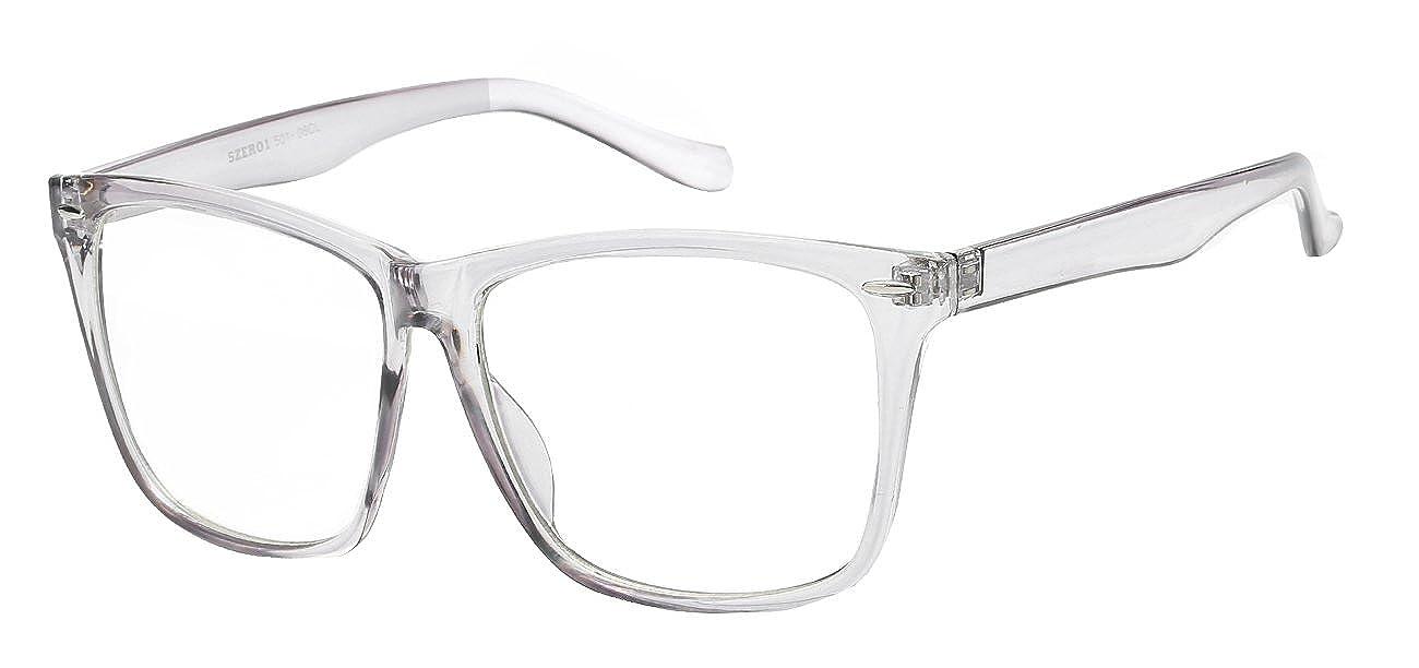 cbf7edeccce9 Lens width  55 millimeters. Lens height  46 millimeters 5zero1 Fake Clear  Glasses Big Frame Nerd Glasses Party Men Women Fashion Classic Retro  Eyeglasses ...