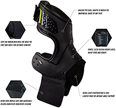 Ankle Sprain Lacrosse Strains for Football Basketball Roll Best Support for Stability Soccer DonJoy Performance POD Ankle Brace Volleyball