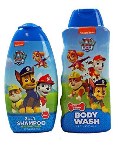 Paw Patrol 2 in 1 Shampoo and Body Wash (Angel Scented Shower Gel)