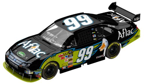 Amazon.com: Carl Edwards #99 Aflac 2010 Ford NASCAR Diecast Car, 1 ...