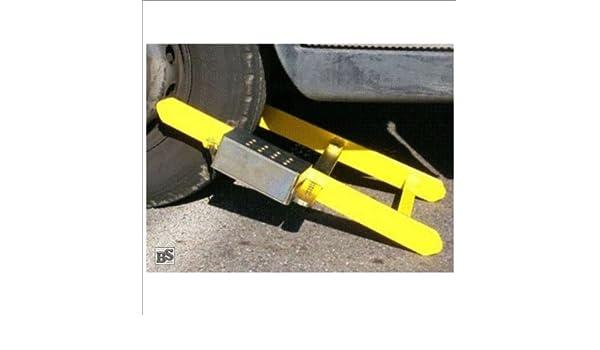Autoridades cepo de rueda para camiones y autobuses de hasta 40 t y 370 mm anchura del neumático