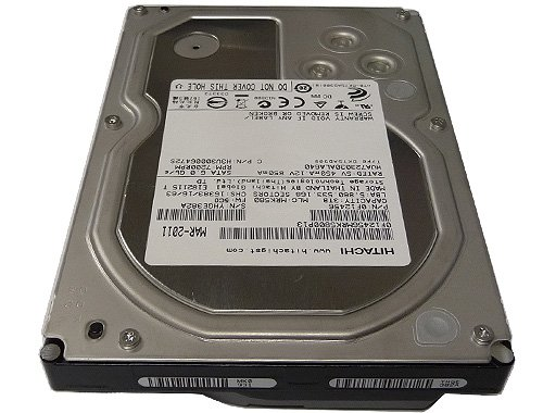"Hitachi 3TB 7200RPM 3.5"" Desktop SATA Hard Drive for PC, Mac, CCTV DVR, NAS, RAID 3 Hitachi 3TB Hard Drive Capacity: 3TB RPM: 7200"