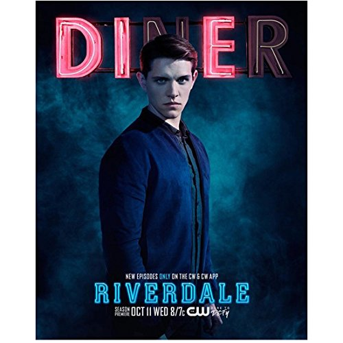 Riverdale Casey Cott as Kevin Keller Standing Tall Lips Pursed Together 8 x 10 Inch Photo
