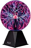Katzco Plasma Ball - 7.5 Inch - Nebula, Thunder Lightning, Plug-in - for Parties, Decorations, Prop, Kids, Bedroom, Home,...