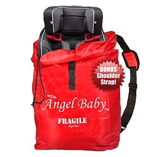 Discover Bargain CAR SEAT TRAVEL BAG Cover - DURABLE Polyester with SHOULDER STRAP, Water Resistant,...