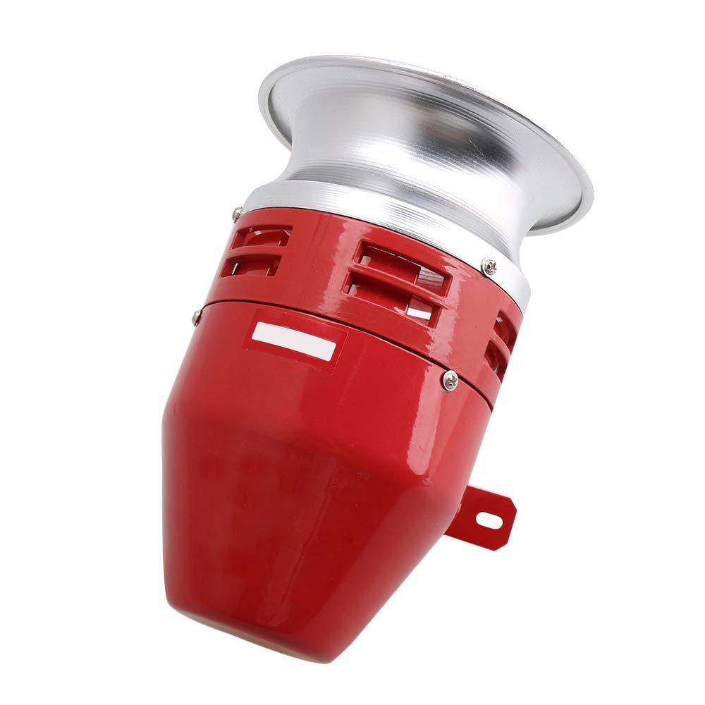 CNBTR DC12V Metal MS-390 125dB Super Sound Blower Alarm Sound Motor Siren Industrial Factory Lab Tool Accessory
