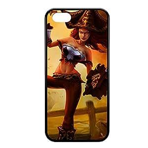 MissFortune-007 League of Legends LoL case cover for iPhone 5C - Rubber Black