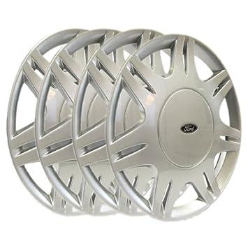 Genuine Ford Ka Wheel Covers Trims  Set Of Four Amazon Co Uk Car Motorbike