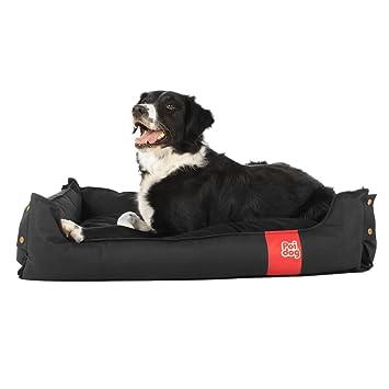 Cama plegable para perro Poi Dog®, negra, para casa o viaje: Amazon.es: Productos para mascotas
