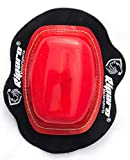 Riparo Motorcycle Racing Knee Puck Protector Sliders (Red)