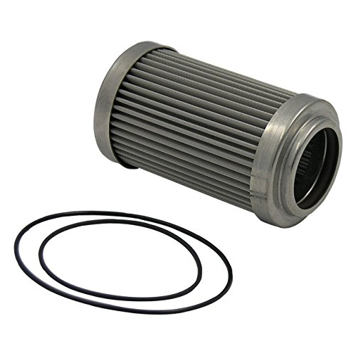 Aeromotive 12618 Replacement Filter Element, 100-Micron Stainless Mesh, Fits All Canister Style Filter Housings