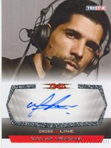 Tristar Tna Cross - Willie Urbina 2008 Tristar TNA Cross the Line Wrestling #C-WU Hand Signed TNA AUTOGRAPH Limited Edition CARD in MINT Condition! Shipped in Ultra Pro Top Loader to Protect it!