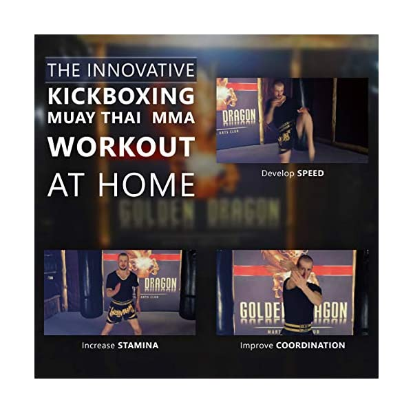 Kickboxing DVDs workout for women men 47 minutes - and Instructional kickbox Muay Thai video training 10 lessons 143 minutes - Cardio exercise - Way of The Warrior Step 1 Base technique - 2 in 1 3