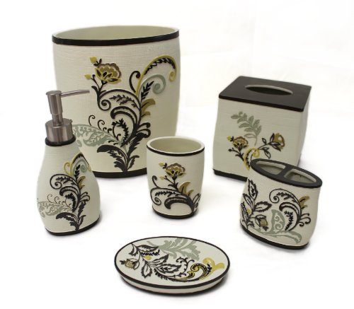 Sherry Kline Findlay 6-piece Bath Accessory Set