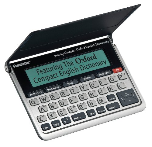 Franklin OEC-570 Compact Oxford English Dictionary with Thesaurus and Spell Correction