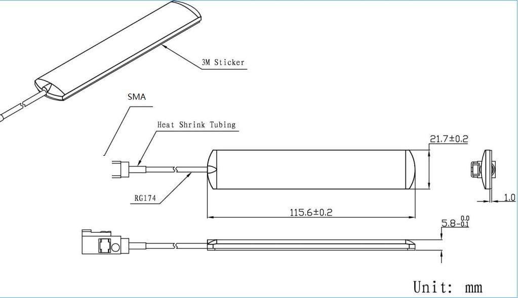 Maswell - Antena WiFi (WiFi, WiMAX y Bluetooth), Forma ...