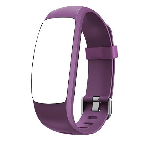Willful Bracelet de Rechange pour Montre Connectée SW331 (Violet)