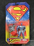 SUPERMAN MAN OF STEEL Action Figure with Pounding Hammer