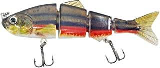 Fishing Reels Saltwater,ABS Material 4/6/8 Hard Multi Jointed Fishing Lure Bait for Bass Trout Fishing