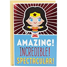 Hallmark Birthday Greeting Card for Kids (Wonder Woman)