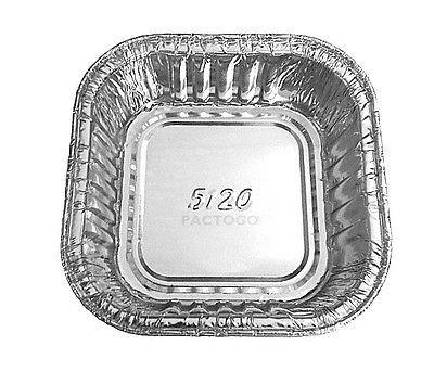 Atta International 3 1 2 Quot Mini Square Aluminum Foil Cake