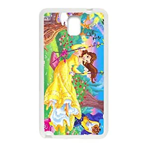 Happy Beauty and the Beast Case Cover For samsung galaxy Note3 Case