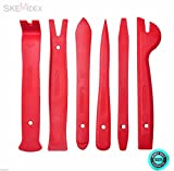 SKEMiDEX--- 6pcs Car Door Trim Panel Dash Clip Interior Wedge Install Removal Pry Tool Kit not disposable like the rest out there These Are a Must Have For Anyone Who Works