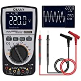 Oscilloscope Multimeter 2.0 Update,LIUMY Professional LED Oscilloscope Multimeter with 200ksps A/D Automatic Waveform Capture Function,DC/AC Voltage/Current Test,HD Color Display with Backlight