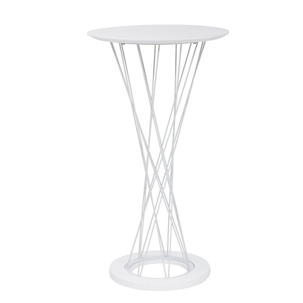 Tuoni Ghibli Tavolino, Metallo Cromato, Legno Laccato, Bianco 8054633410677_Bianco tavolini; caffè