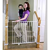 Baby : Regalo 2-in-1 Extra Tall Top of Stairs Gate | Meets All Current Safety Standards. by Regalo.