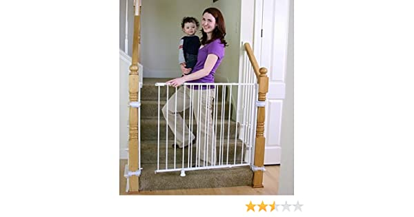 Good Amazon.com : Regalo 2 In 1 Extra Tall Top Of Stairs Gate | Meets All  Current Safety Standards. By Regalo. : Baby