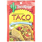Taco Time, Authentic Restaurant Flavour, Taco Seasoning Mix, Less Salt, 40g, 12 Count